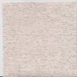 Knitted Polyester Linen Natural Jersey Fabric