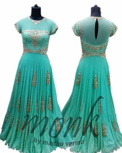 Retailer Of Designer Floor Length Dress Designer Saree By Monk By