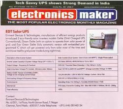 Solar UPS , Electronics Maker