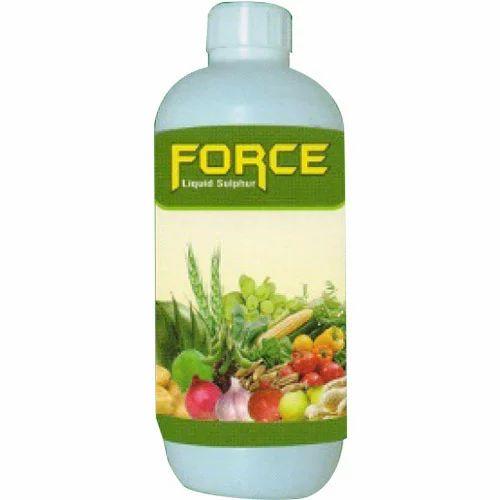 Force liquid sulphur