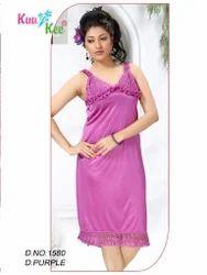Short Length Silk KuuKee 1580 Baby Doll Slip, Size: Large