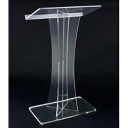 Frosted Acrylic Podium