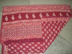 Cotton Bagru Print Saree