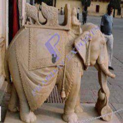 Marble Stone Elephant Handicraft