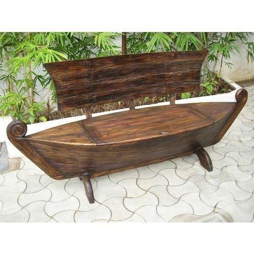 Antique Standard Boat Sofa 3 Seater