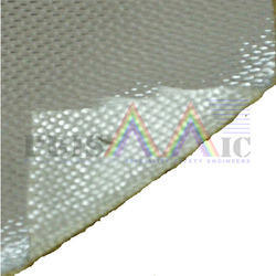 White Aluminised Fiberglass Fabric