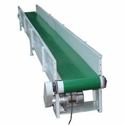 Green Belt Conveyor For Food Industry