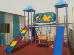 FRP Playground Multi Play Station