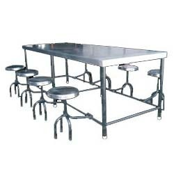 Stainless Steel Canteen Bench