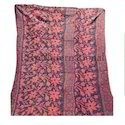 Authentic Vintage Kantha Quilt, Old Fabric Handmade Quilt