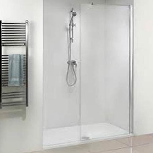 Srivatsa Intearch Toughened Glass Semi Framed Shower Enclosure, Rs ...