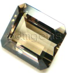 Smoky Quartz Octagon Gemstone