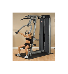 Dpls-sf Dual Chest Press / Lat / Row / Incline Body Solid