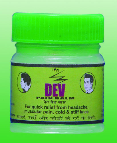 Dev Pain Balm - Green, for Personal