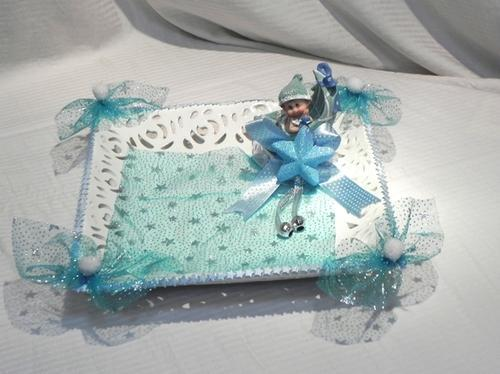 Baby Boy Gift Tray Velpack Innovative Packaging