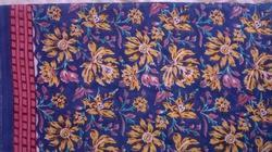 Block Flower Printed Fabric