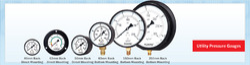Utility Pressure Gauge