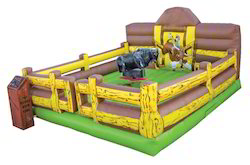 Theme Bull Bouncy Amusement Ride