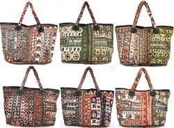 Vintage Sari Patchwork Handbags
