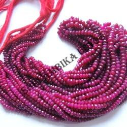 Dyed Ruby Beads
