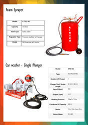 Car Washer And Foam Sprayer