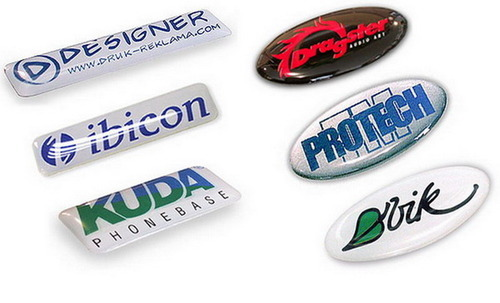 Dome Shape Epoxy Coated Dome Sticker, Packaging Type: Box