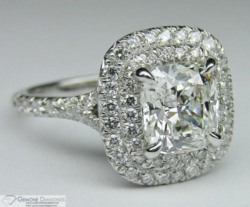 Diamond Rings - Genuine White Round Diamond Solitaire Engagement Ring  Manufacturer from Surat