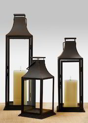 Iron Candle Lanterns