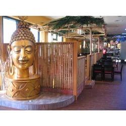 Buddha in Themed Restaurant
