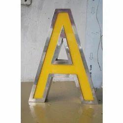 Acrylic Steel Letter