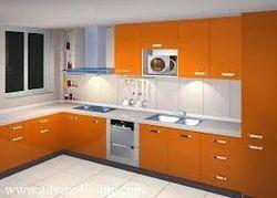 Modular Kitchen Furniture Orange Modular Kitchen Furniture