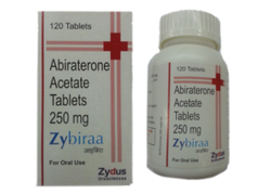 Abiraterone Acetate 250 mg Zybiraa Tablets