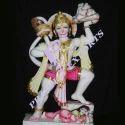 Veer Hanuman White Marble Statues