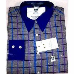 Checks Full Sleeves Executive Shirt