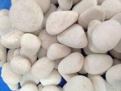 White Natural Decor Pebbles