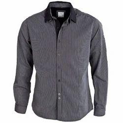 Cotton Checks Men's Designer Shirt, Size: 42