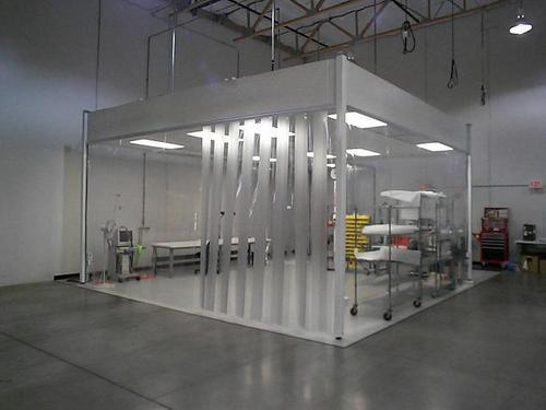 Modular Cleanroom Softwall Cleanroom Manufacturer From