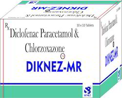 Diclofenac Potassium, Paracetamol Chlorzoxazone Tab