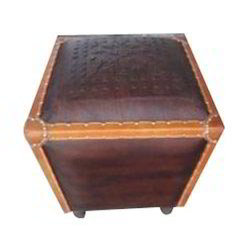 Leather Oid Trunk