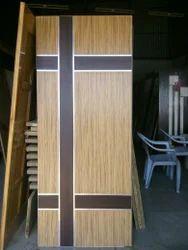 Jyothi Interiors Hinged Steel Beading Plywood Door, For Home
