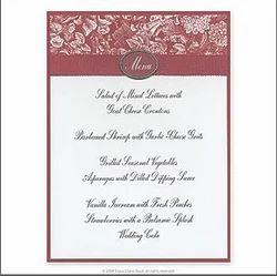 Invitation card in secunderabad telangana manufacturers invitation cards menu cards stopboris Gallery