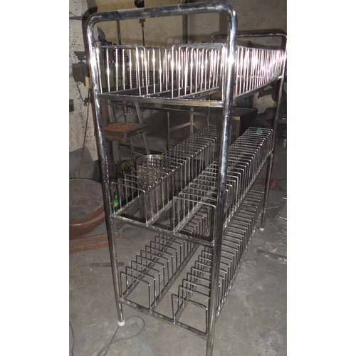 SHREE Silver Plate Storage Rack  sc 1 st  IndiaMART & SHREE Silver Plate Storage Rack Rs 18500 /unit Shree Industries ...