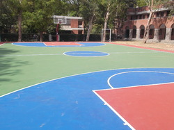 Synthetic Basketball Surface Flooring