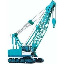 Diesel Crawler Cranes Rental Services, For Construction, Rental Duration: Yearly