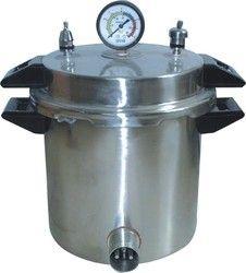 Portable Autoclave Single Drum (Aluminium)