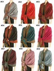 e5b55db2c Cashmere Silk Wool Pashmina Scarf Shawl Wrap Scarves Stole - Chandel ...