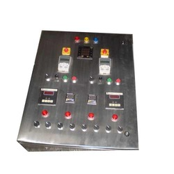 Stainless Steel Power Tech Control Panel, For Motor Control