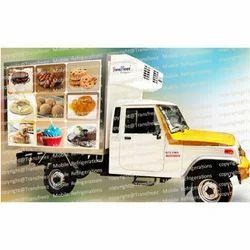 Chocolate Refrigerated Truck