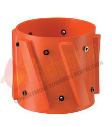 Bronze Alloy Spiral Vane Solid Rigid Centralizer