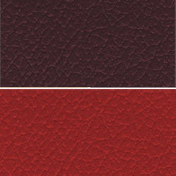 Maroon Colored Seat PVC Leather Cloth
